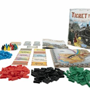ticket to ride kutu oyunları
